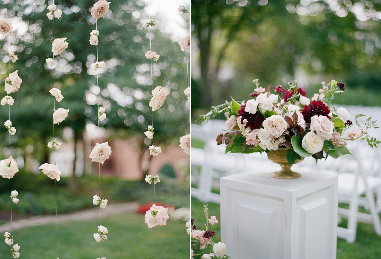 Garden wedding Meridian House