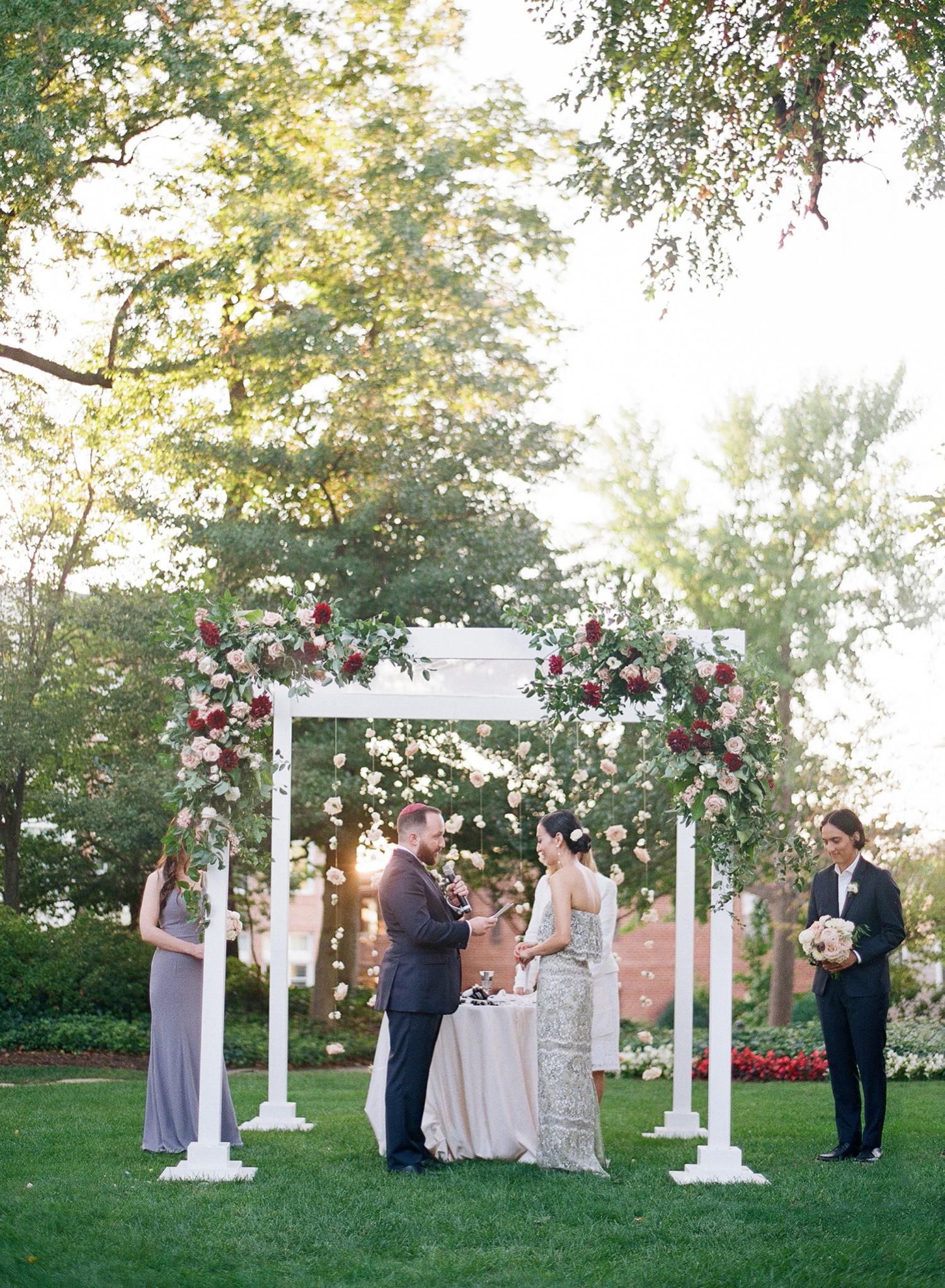 outdoor ceremony Washington DC