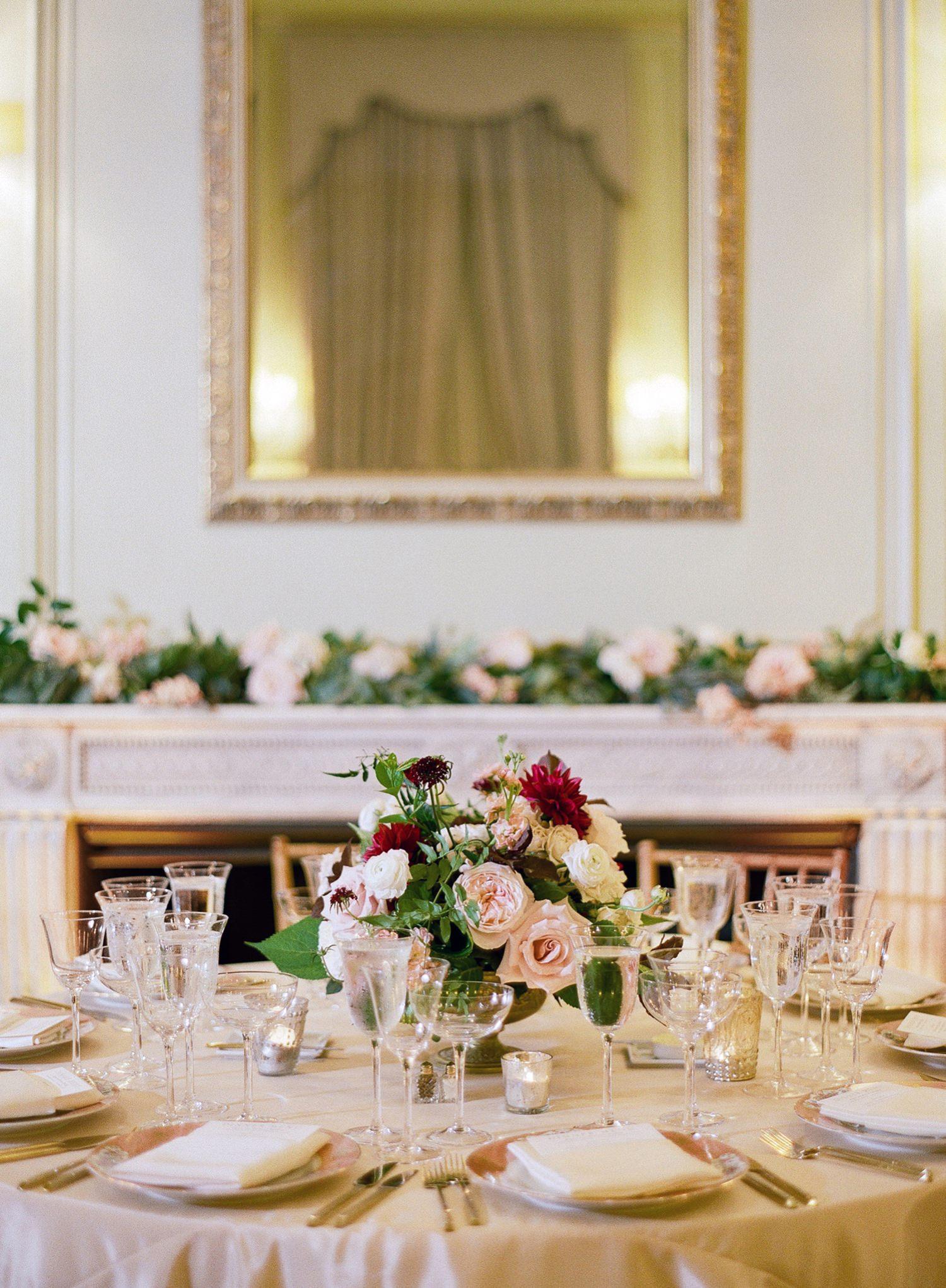Meridian House wedding reception