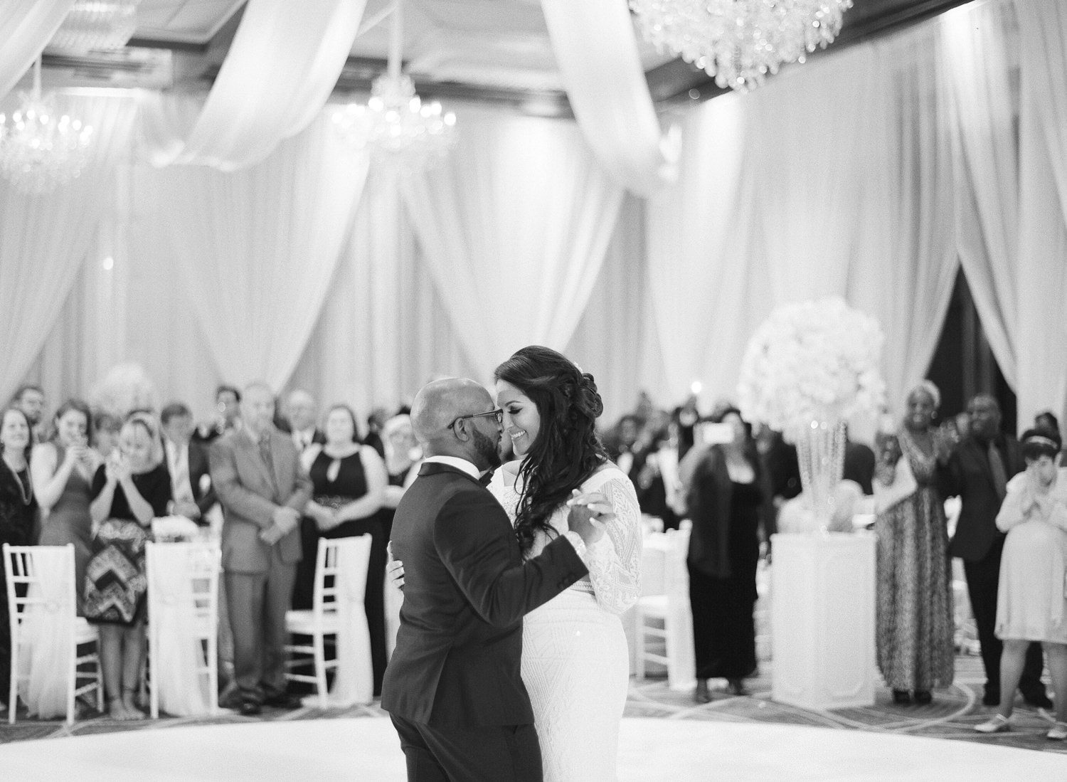 four seasons Baltimore wedding reception