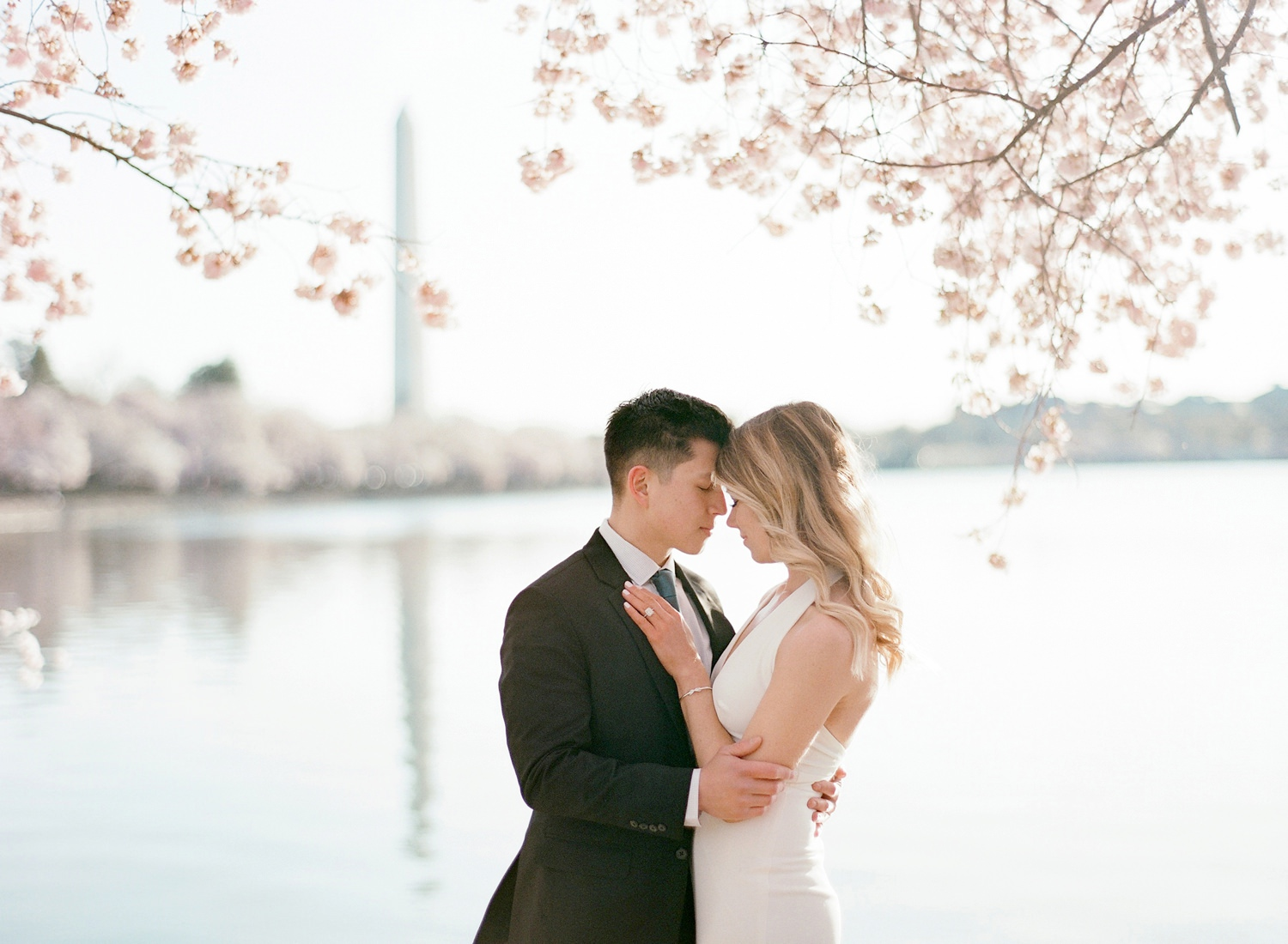 DC monument engagement photos