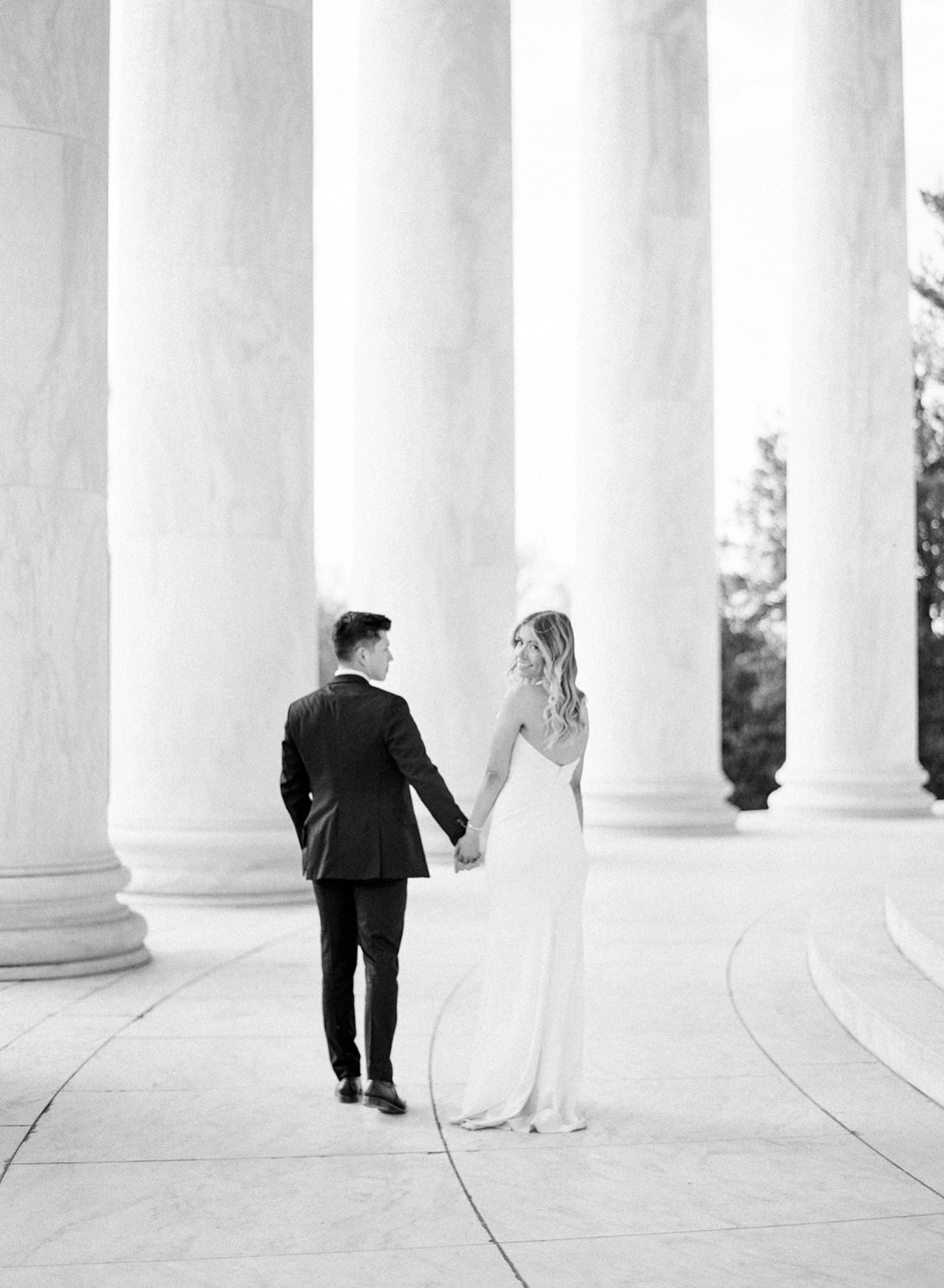 fine art film engagement photographer in DC