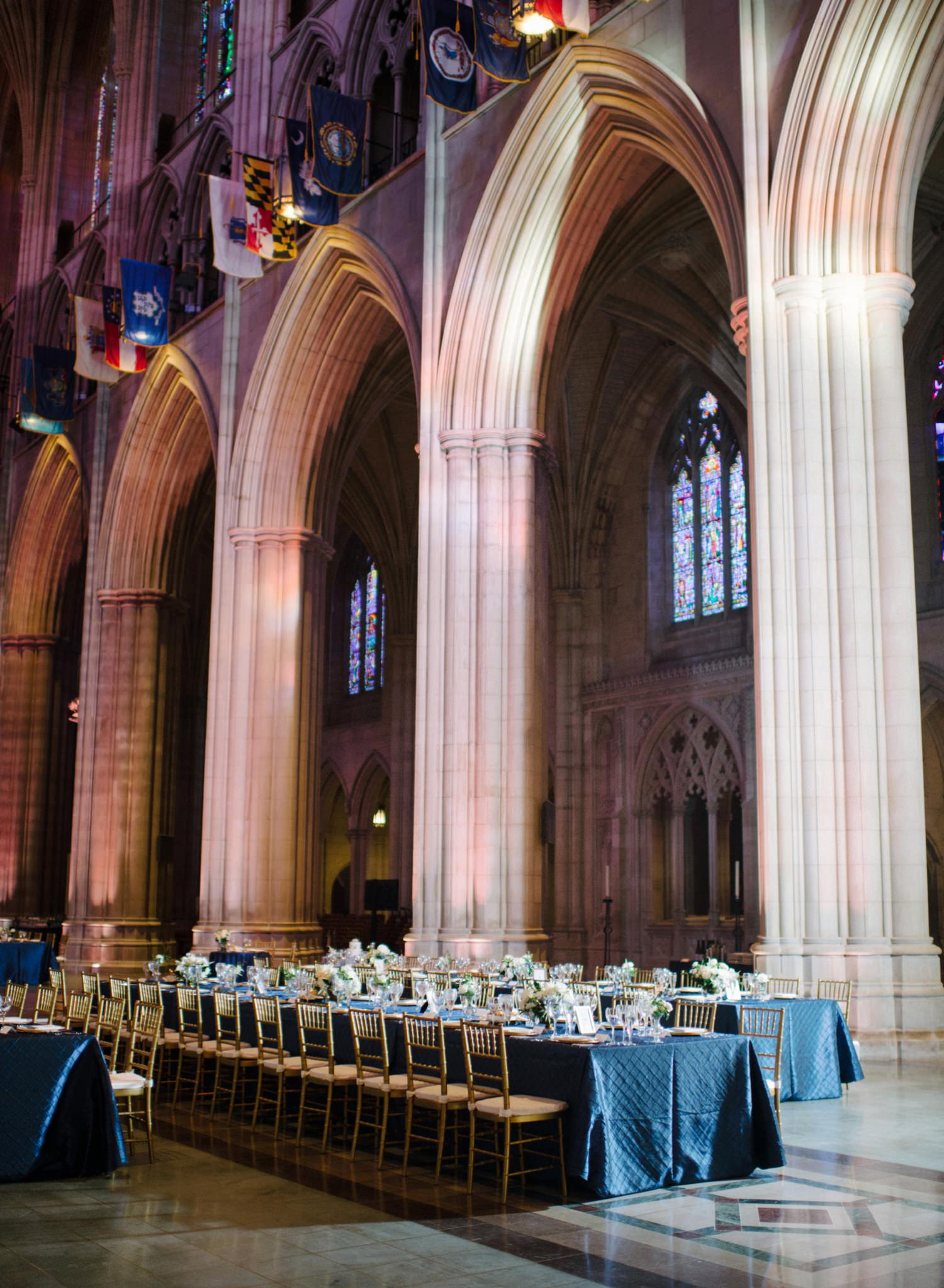 National Cathedral Wedding reception