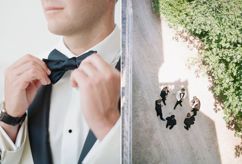 white tuxedo groom inspo