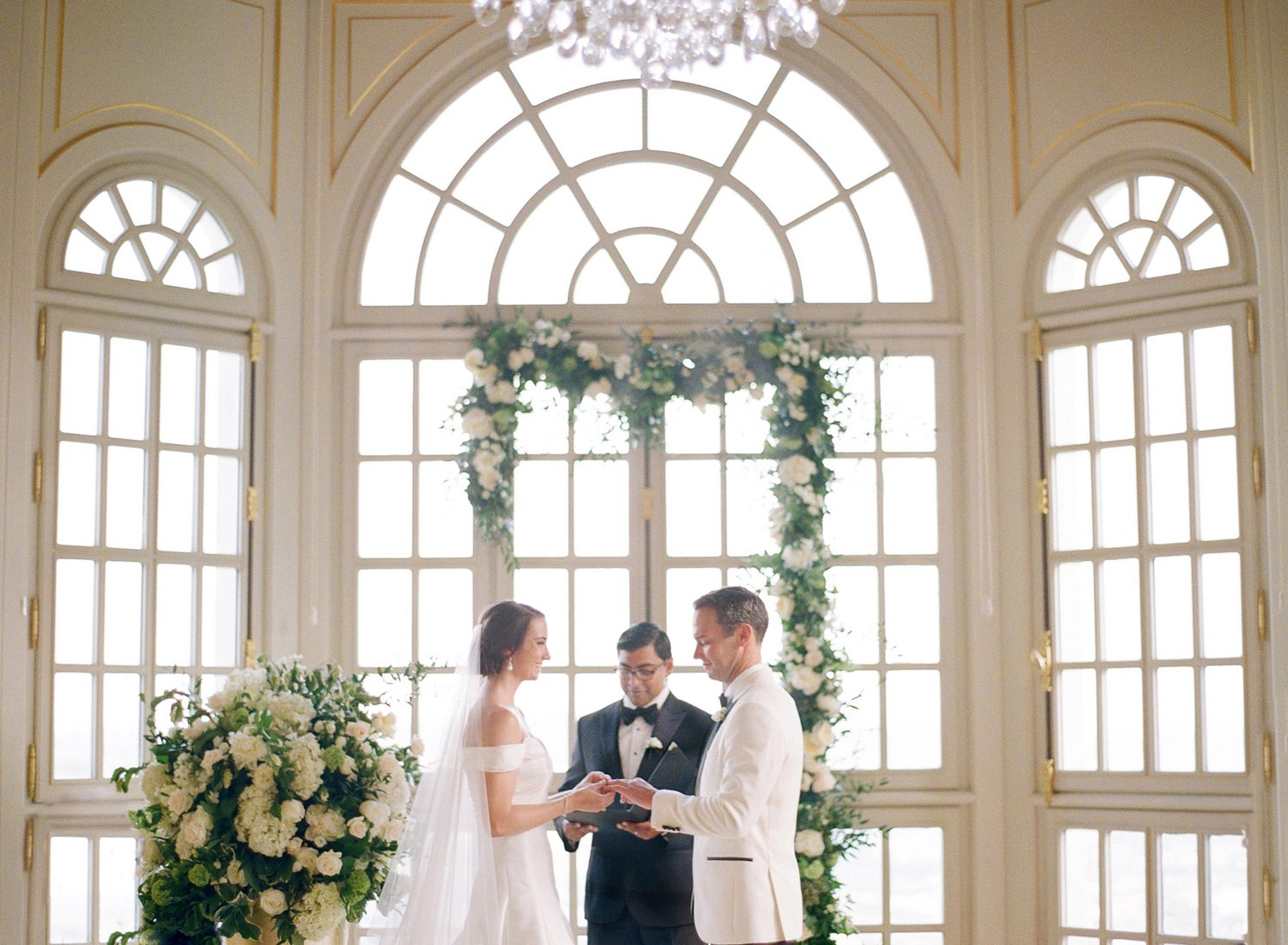 chateau saint georges wedding ceremony