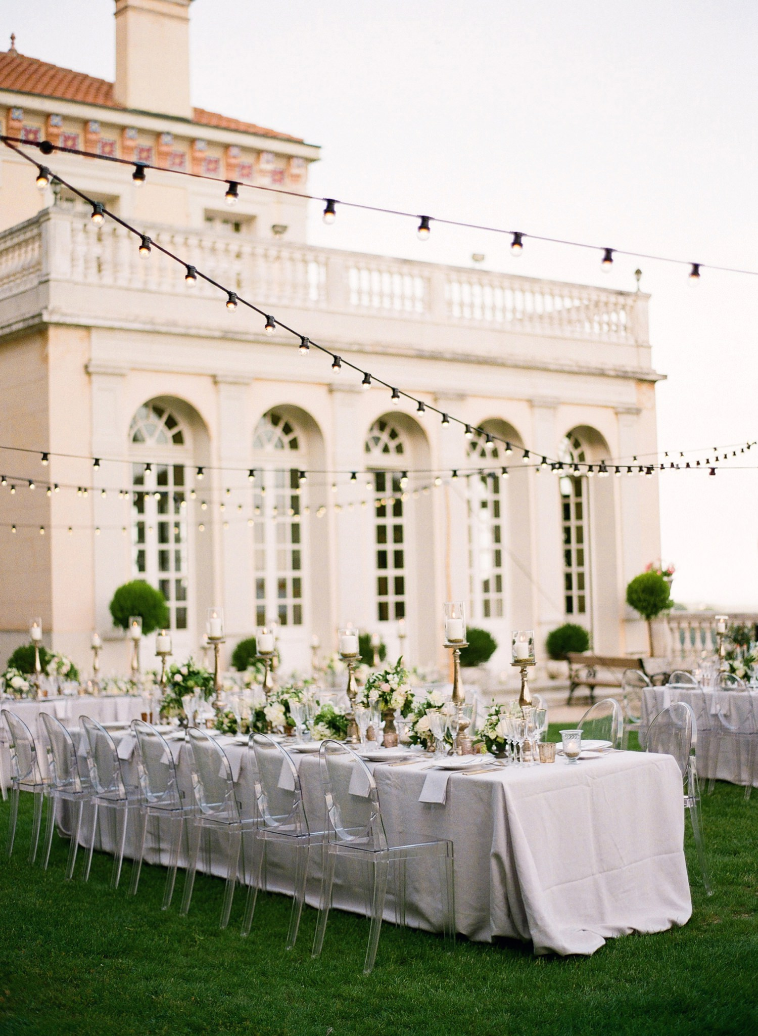 chateau saint georges wedding reception