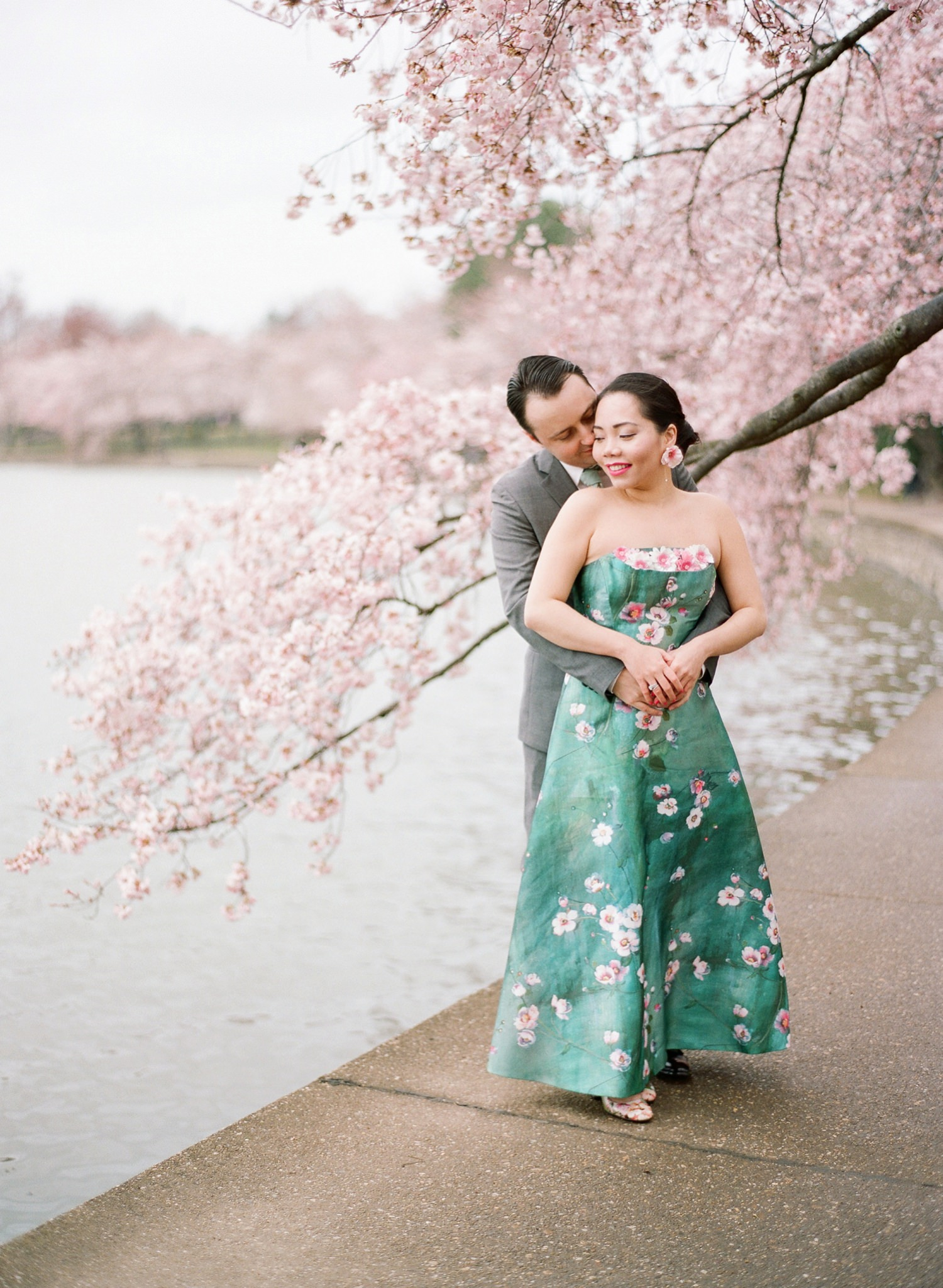fine art engagement photographer in DC