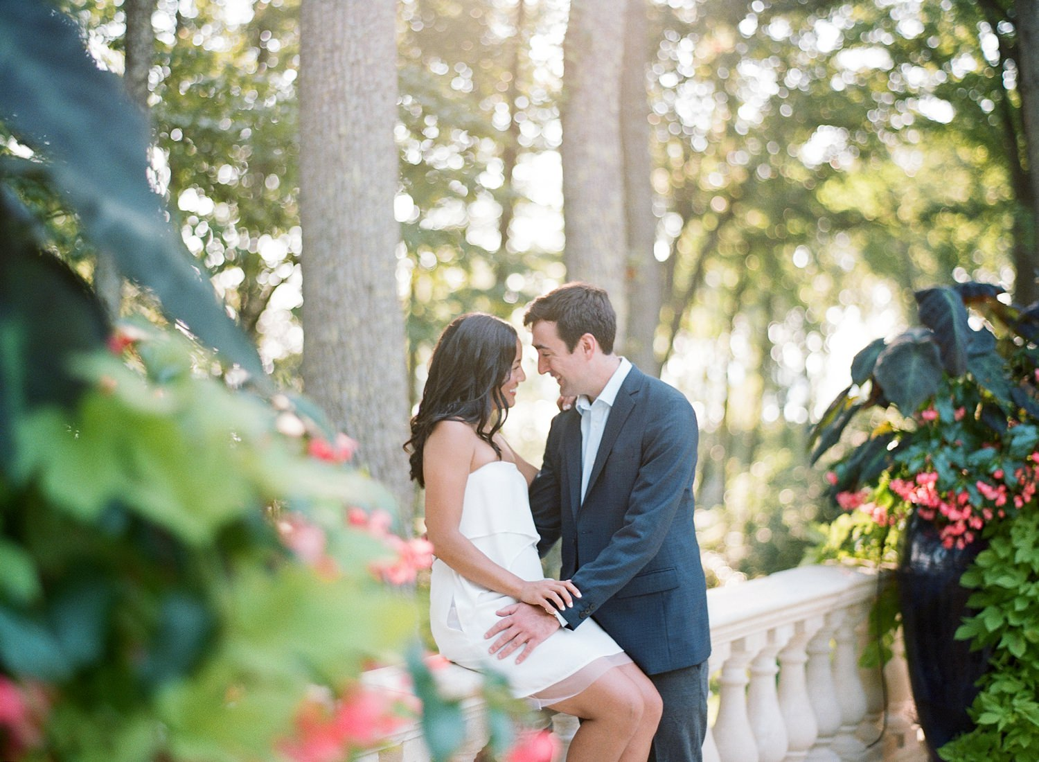 private estate engagement session in maryland