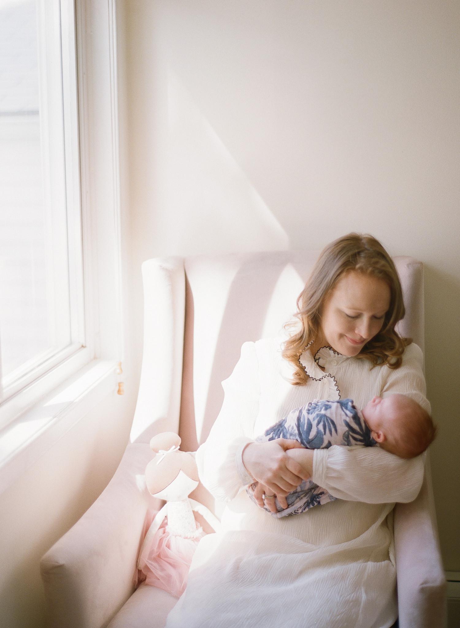 motherhood portraits on film
