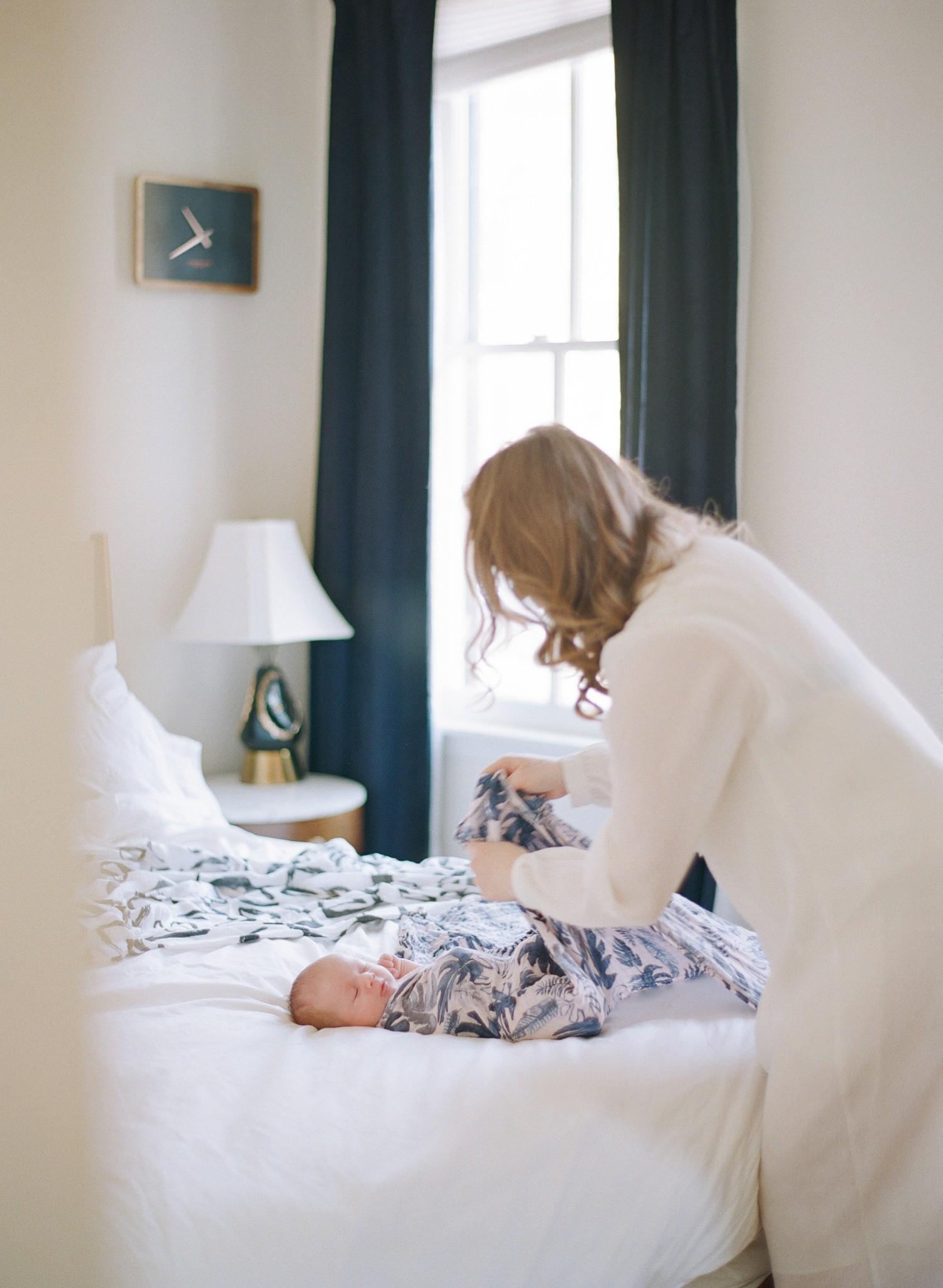 washington dc lifestyle newborn photographer