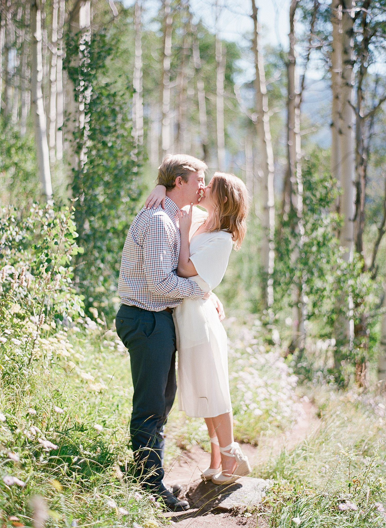Vail Colorado Engagement Session