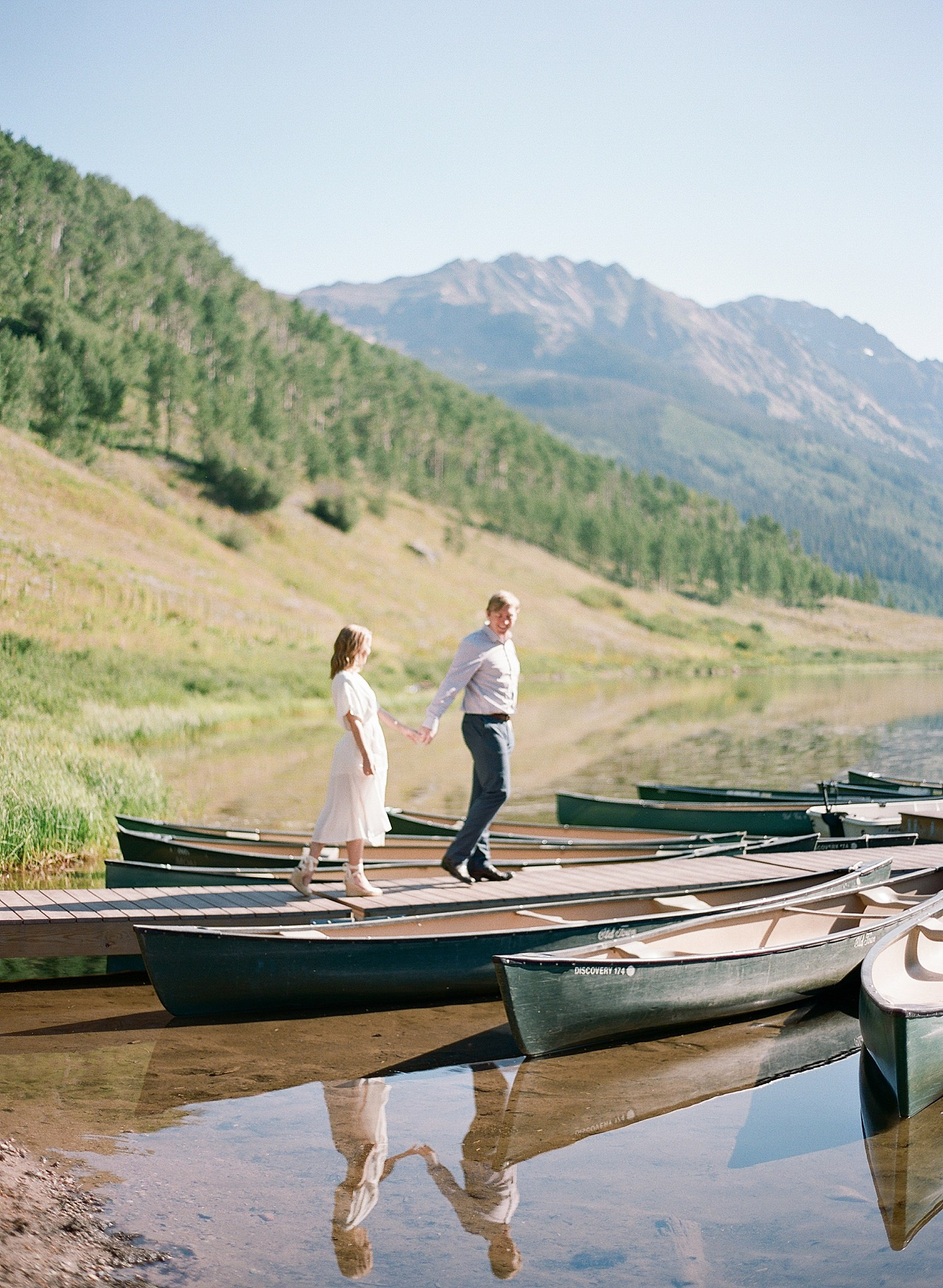 Vail Colorado engagement photos