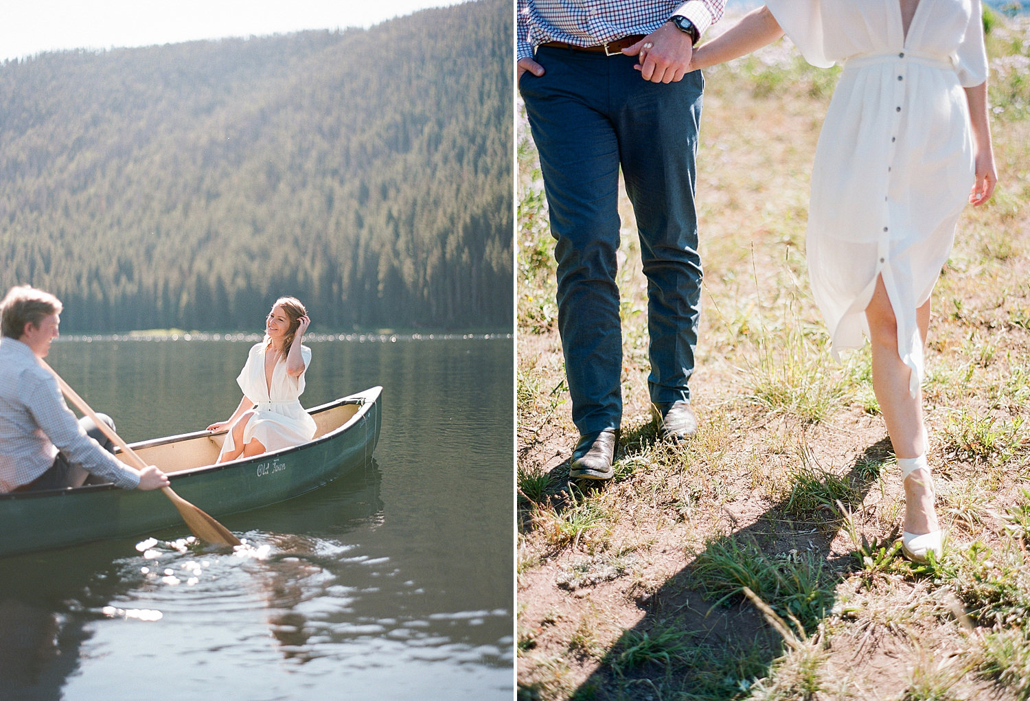 Piney River Ranch engagement photos