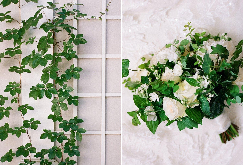 spring bridal bouquet for St. Regis DC wedding