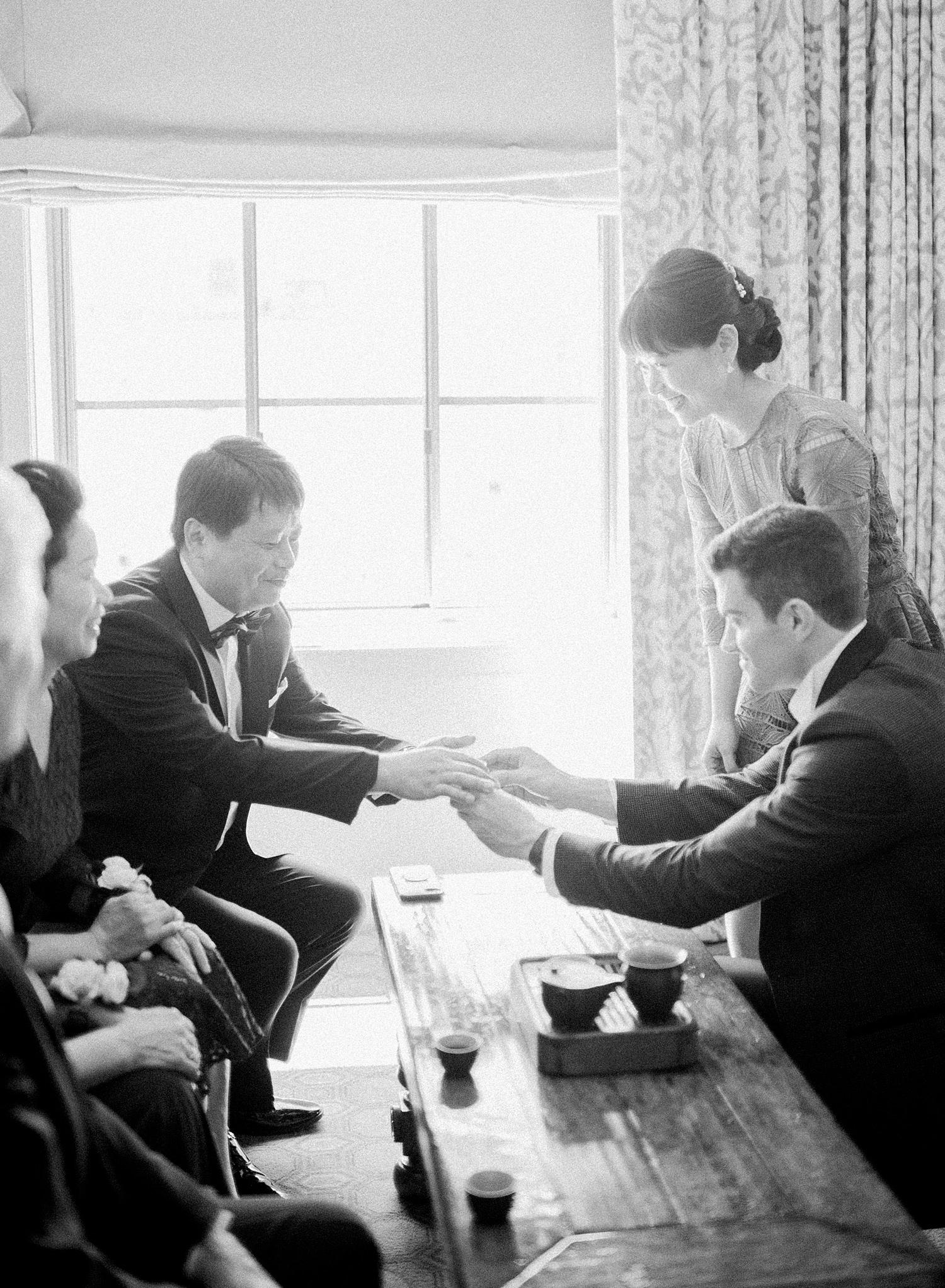 Chinese tea ceremony, DC wedding photos