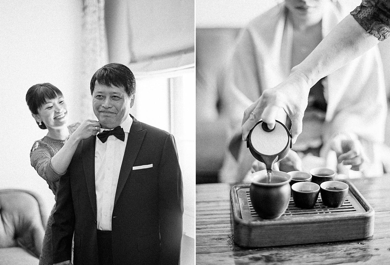 St. Regis DC wedding Chinese tea ceremony