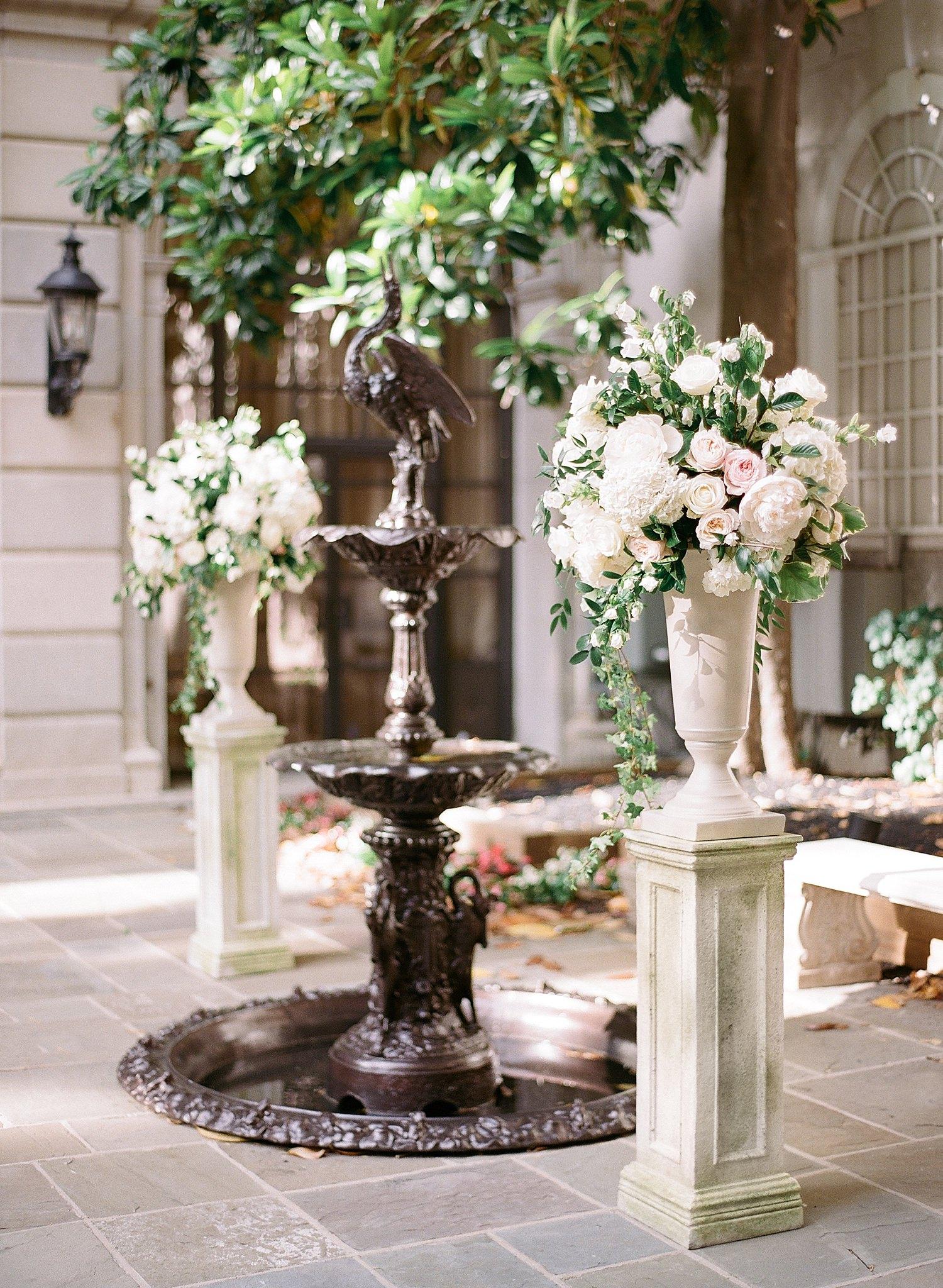 St. Regis DC wedding ceremony Astor Terrace