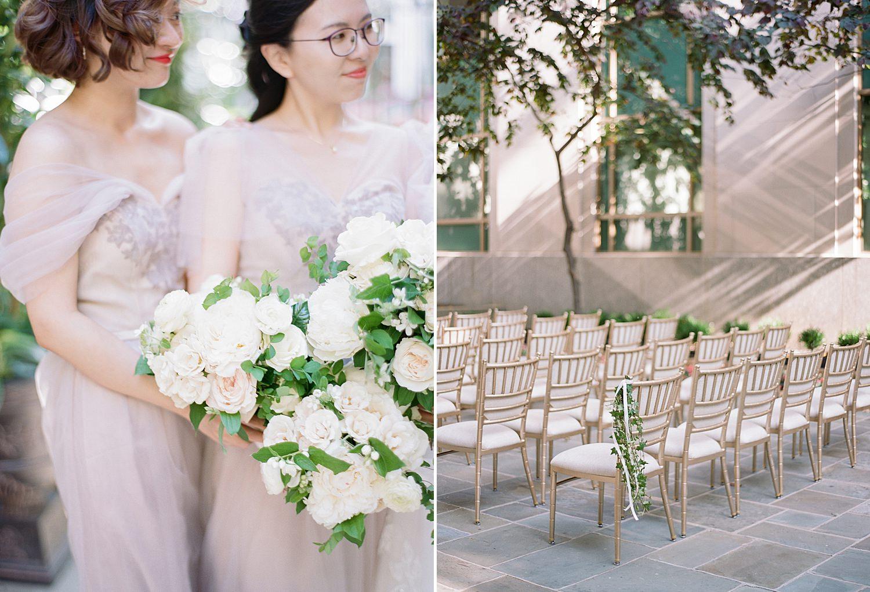 garden wedding in DC at St. Regis DC wedding