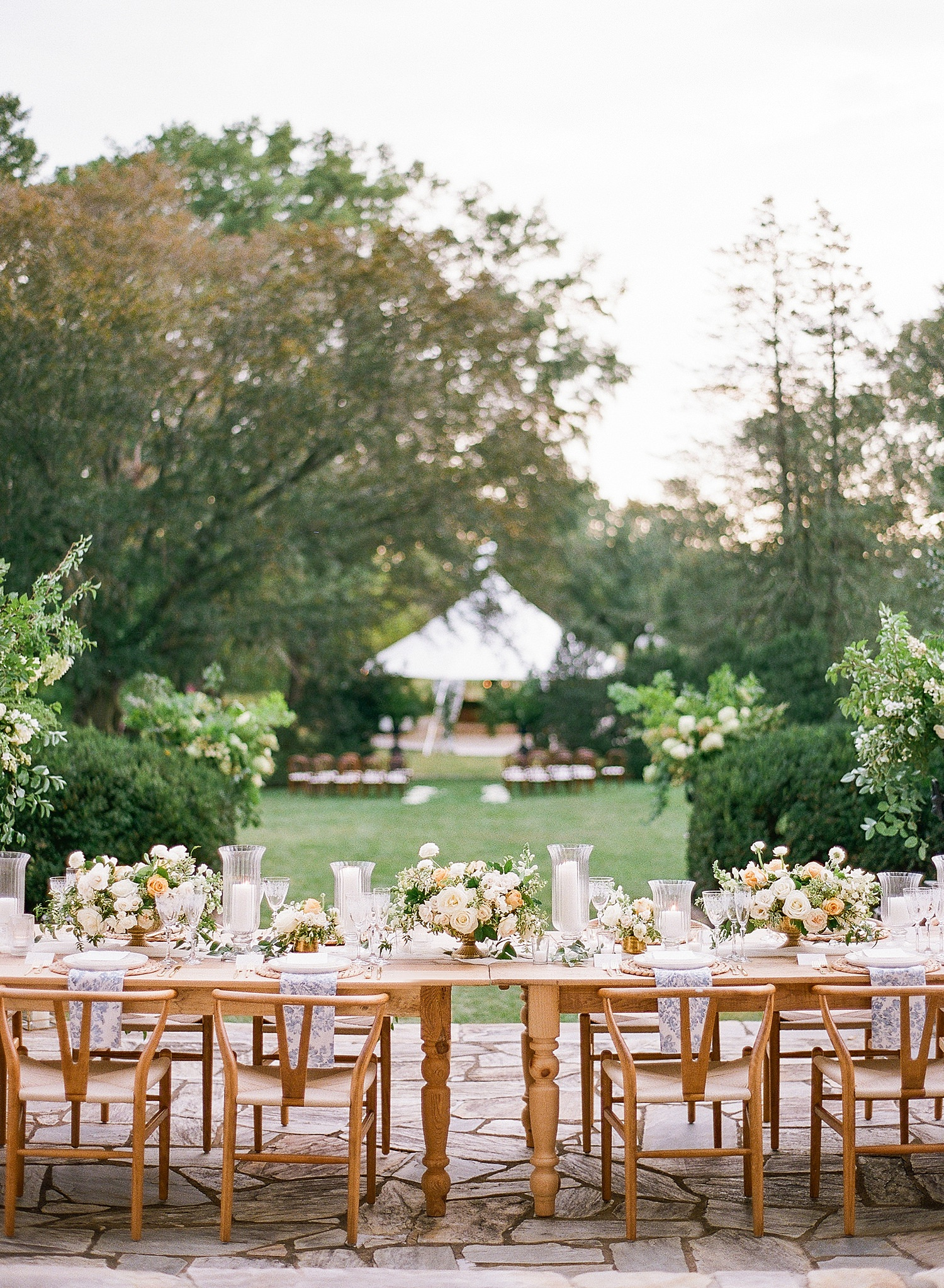 outdoor reception inspiration