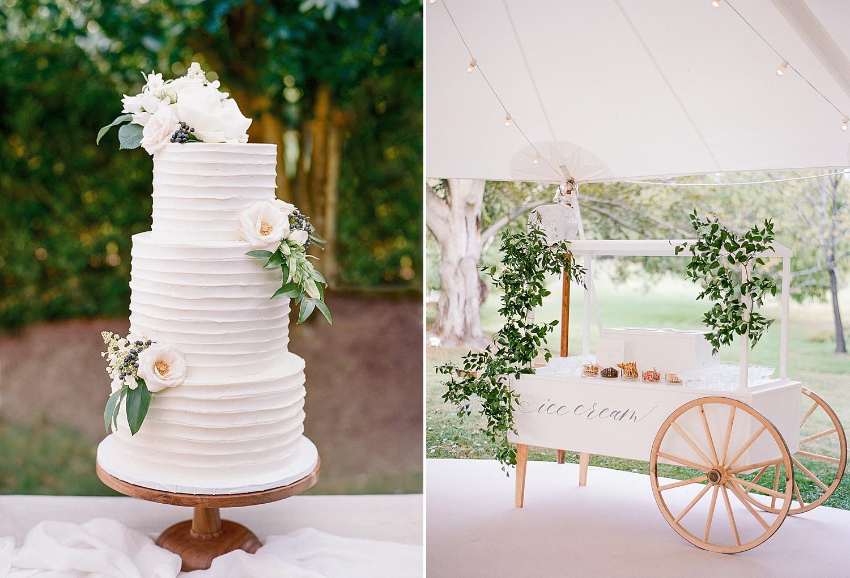 unique dessert wedding ideas