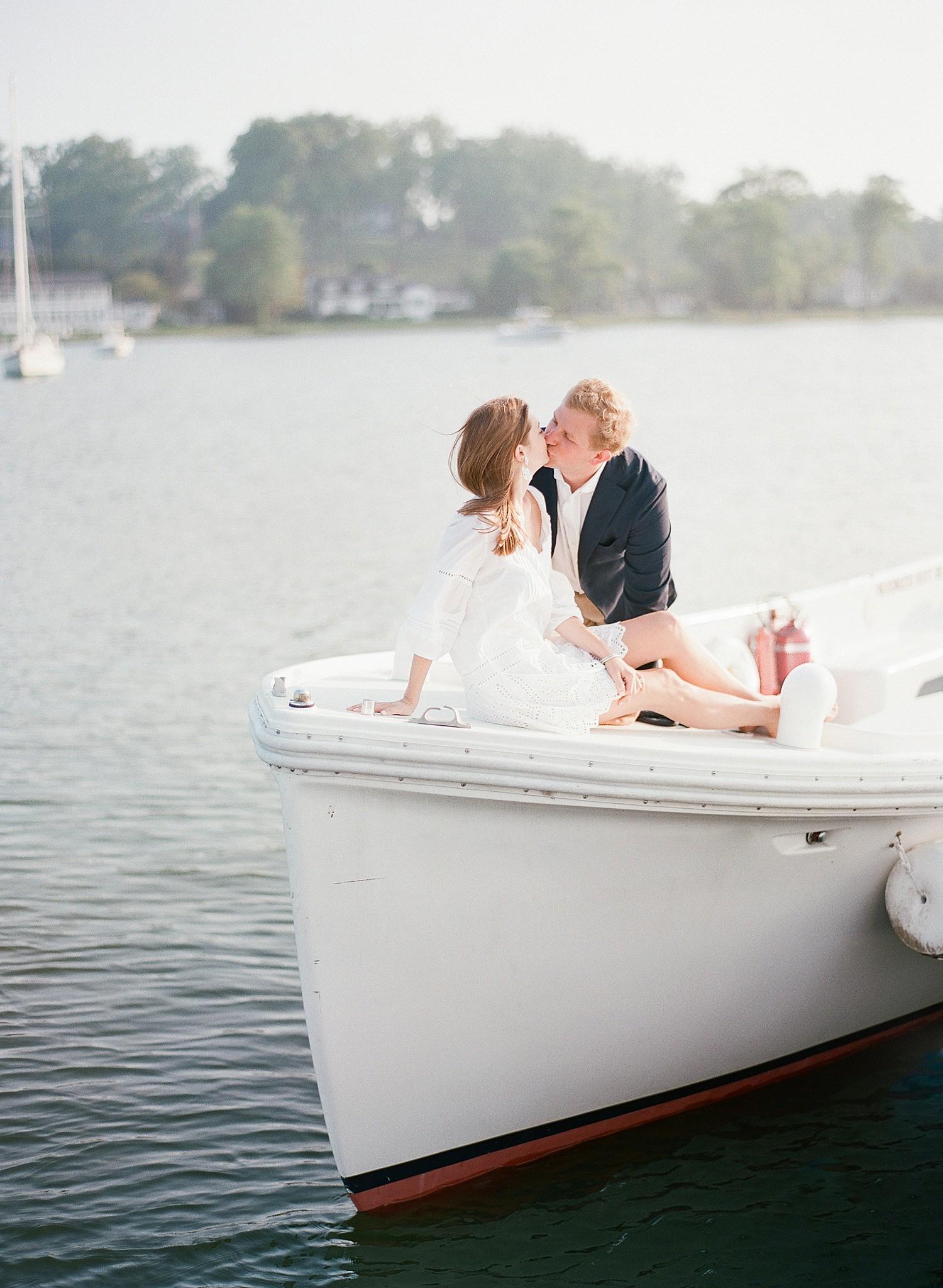 sailboat engagement session
